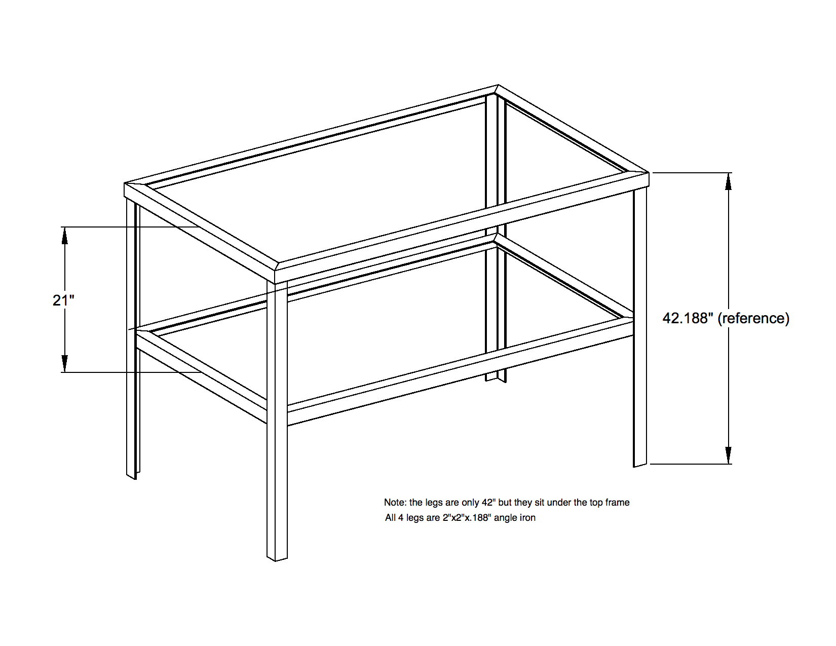 angle iron table frame plans - My Blog About May2018 Calendar ...
