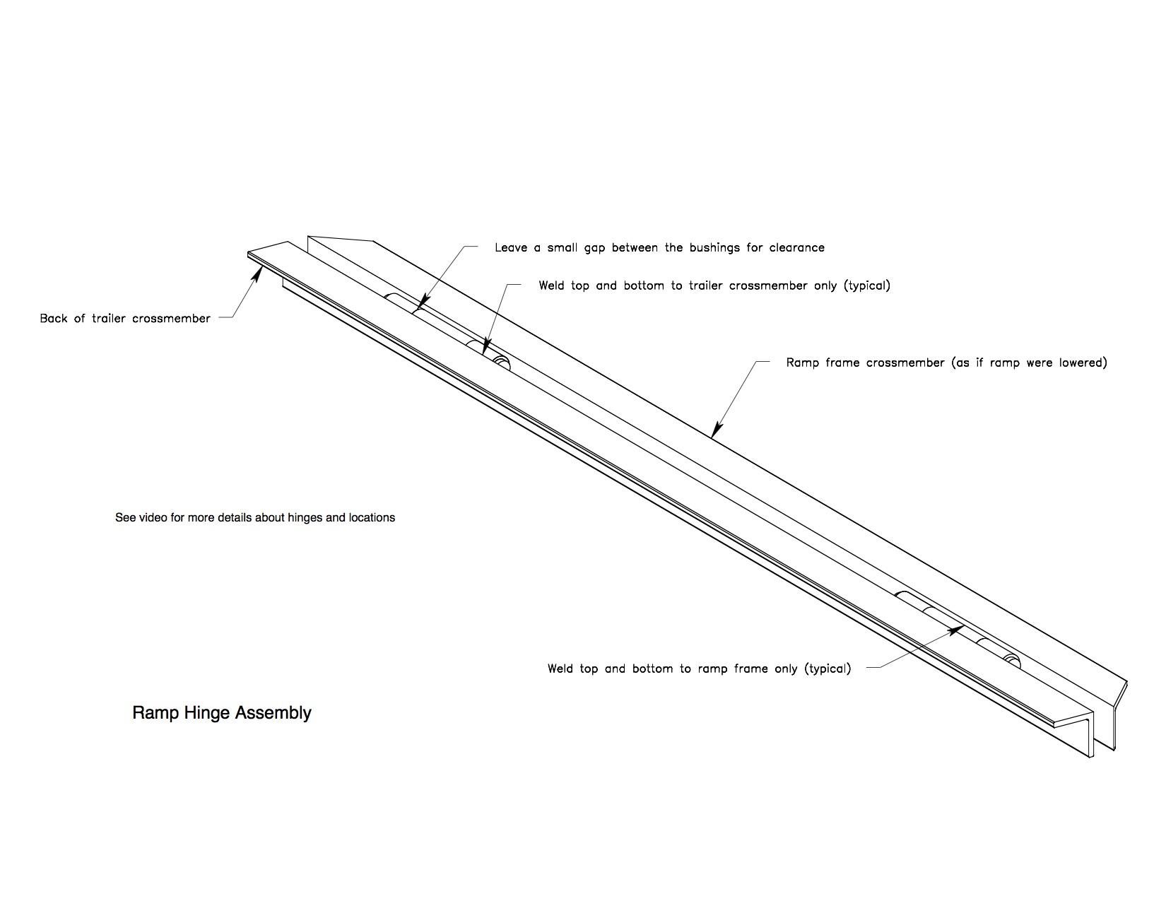 5x8 utility trailer plans